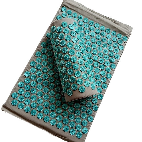 Spike Acupuncture Massage Yoga Mat/Pillow Massager (Appro.67*42cm)