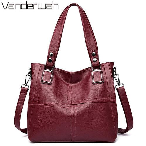 Large Capacity 2 Layers Luxury Handbags Women