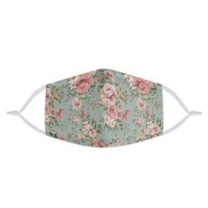 Vintage Floral Love | CDC Rec 3 Layer Face Mask