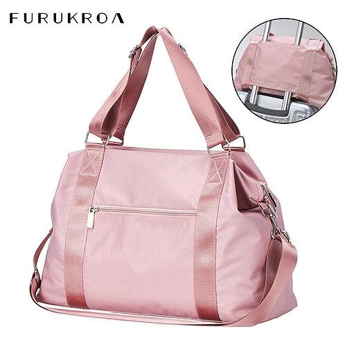 2021  Female Training Sports Yoga Bag Carry on Luggage Duffle Tote Handbag