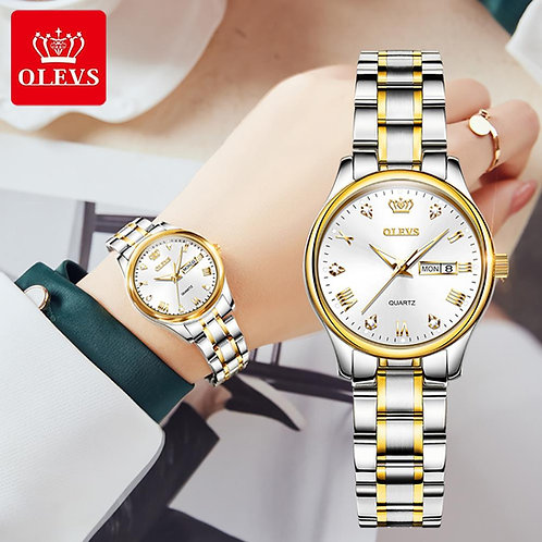 OLEVS New Fashion Women Quartz Watch Waterproof Classic Luxury Brand