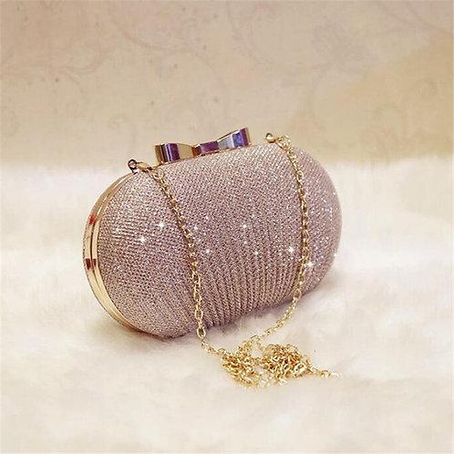 Golden Evening Clutch Bag Women Bags Wedding Shiny Handbags  Clutches Bag