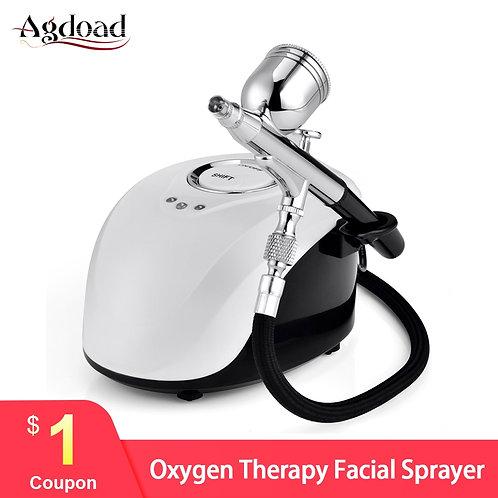 Skin Rejuvenation Water Compressor Airbush Nano Oxygen Jet Face Spray Machine