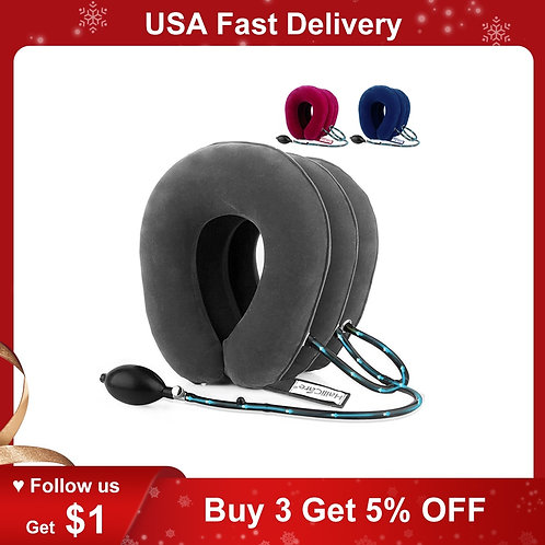 Soft Neck Cervical Collar Pillow Pain Stress Relief Neck Stretcher