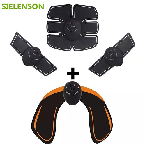 Unisex EMS Hips Trainer Electric Muscle Stimulator Wirelesss