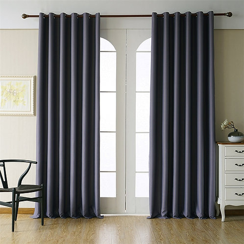Byetee Modern Blackout Curtains for Living Room Curtains