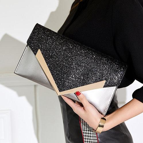 Fashion Envelope Clutch Bag Women Leather