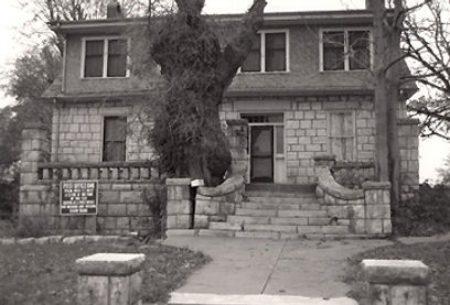 Post Office Oak exterior with full tree.