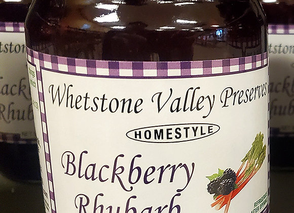 Blackberry-Rhubarb Jam from Whetstone Valley - 12oz