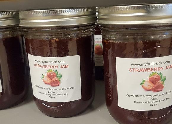 Strawberry Jam 16 OZ