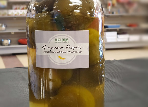 Pickled Hungarian Peppers