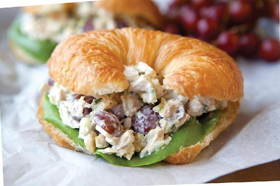 The Fruit Truck's Healthy Chicken Grape Salad