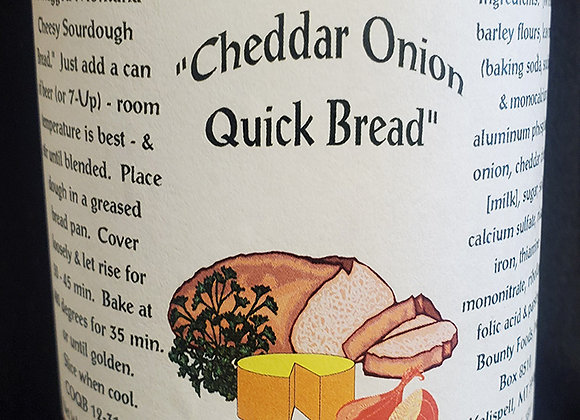 Cheddar Onion Quick Bread Mix