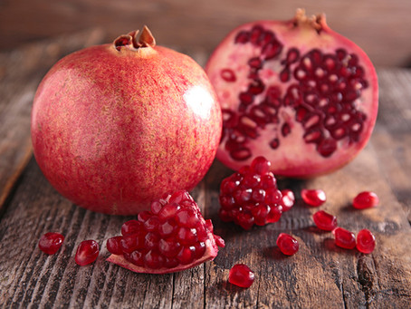 Covid & the holidays have you on edge? Did you know pomegranates can actually help relieve stress!?