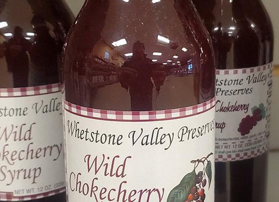Wild Chokecherry Syrup from Whetstone Valley - 12oz