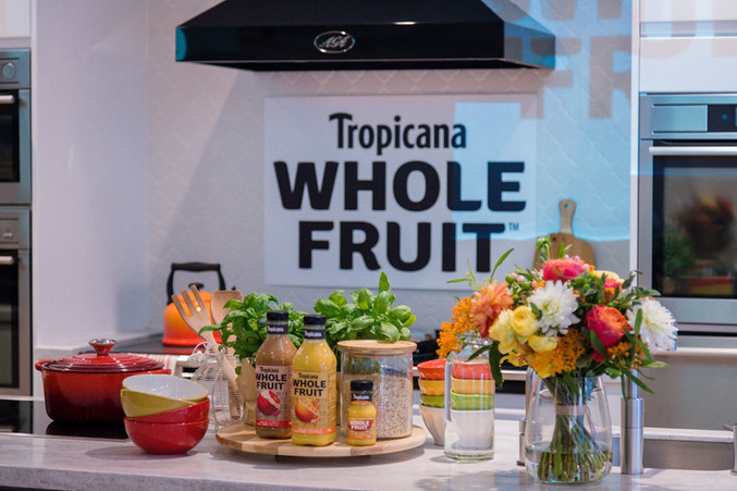 Tropicana Whole Fruit Event