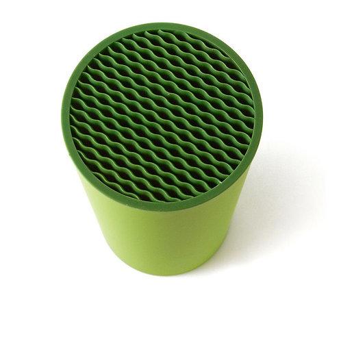 瑞典【GREEGREEN】 瀝水刀具收納筒 (綠色)
