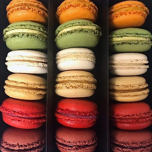 Macarons (18 stuks)