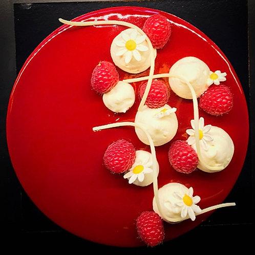 Framboos taart