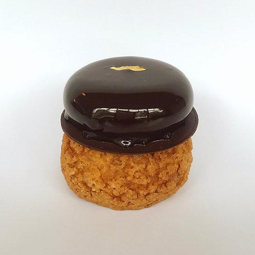 choco- karamel choux
