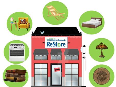 ReStore: Open Monday - Saturday 10 am to 5 pm