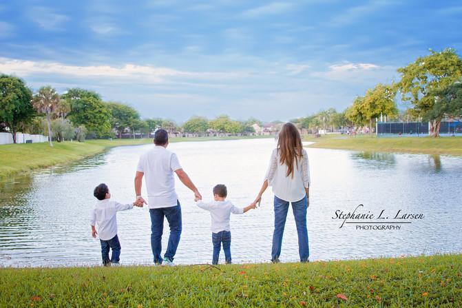 Scott family lifestyle photoshoot