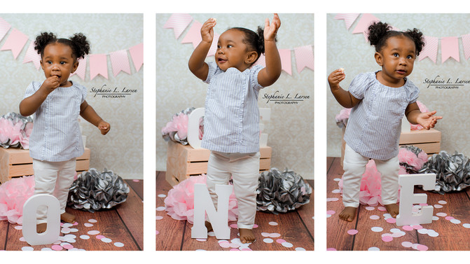 Naimah is One! Gallery is up