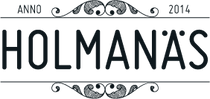 Holmanas logga almost black.png