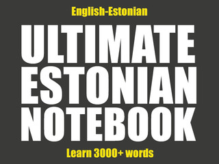 Ultimate Estonian Notebook - what is it?