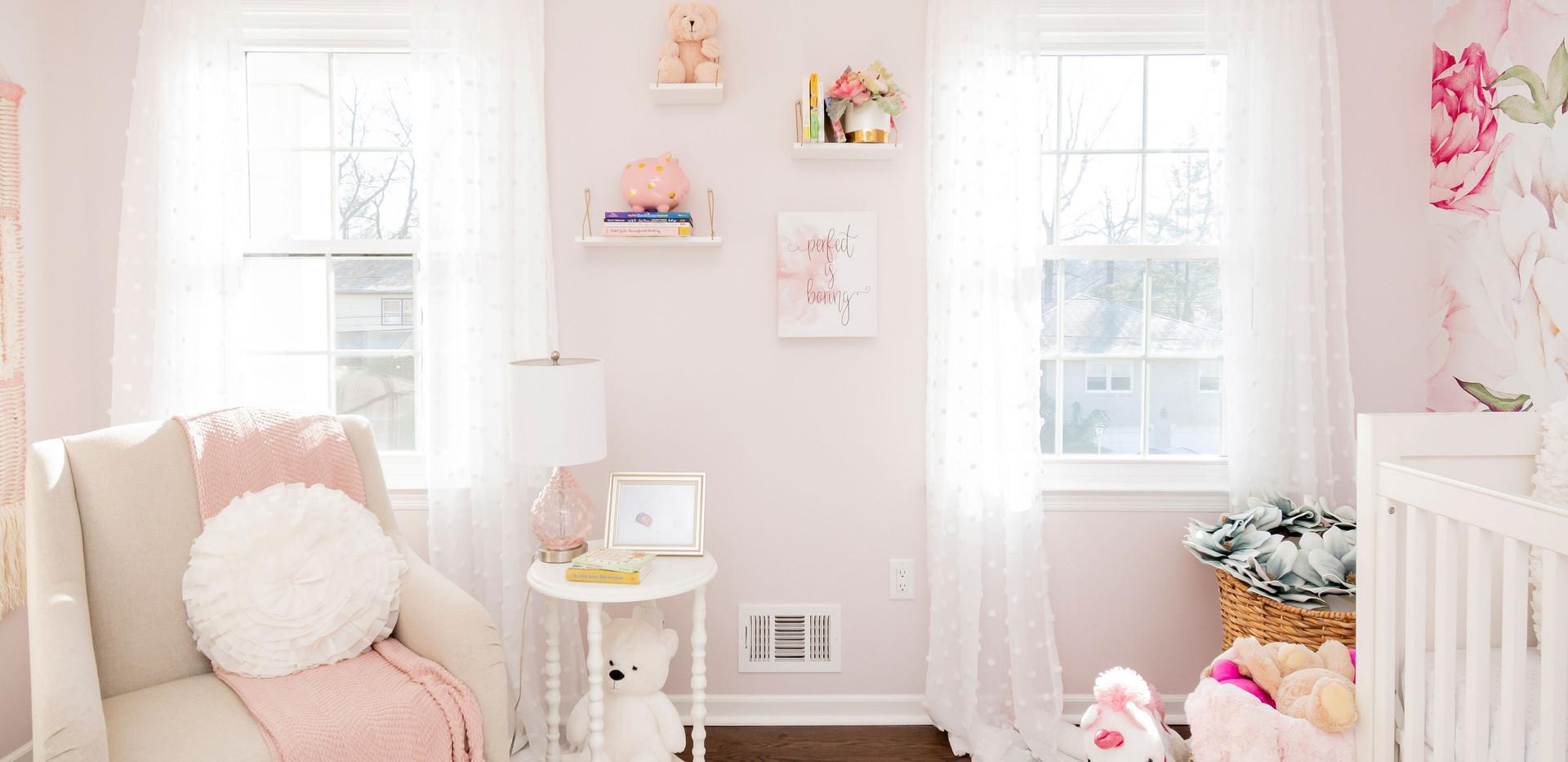 Studio 8 Girl Nursery
