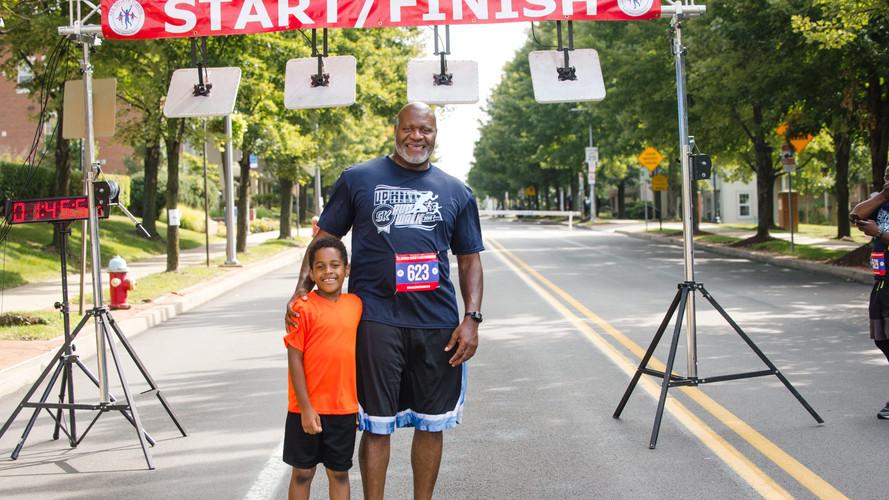 Uphill 5K -- post-race -- Rep. Wheatley