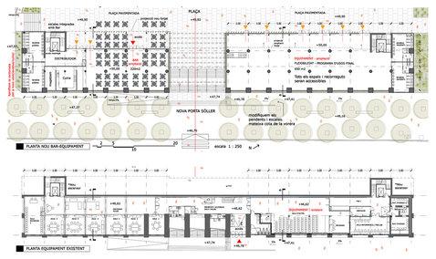 Ground floor and Plaza levels