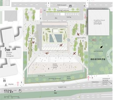 Songdo library Plan