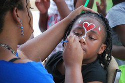 Face Painting at Impact Day