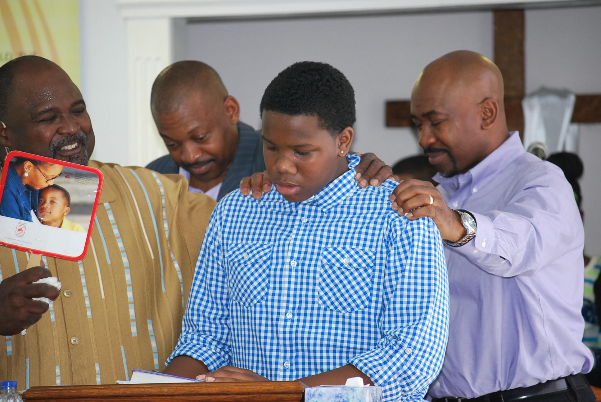 Teen Preparing to Preach