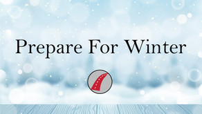 Prepare For Winter At Home and On The Road