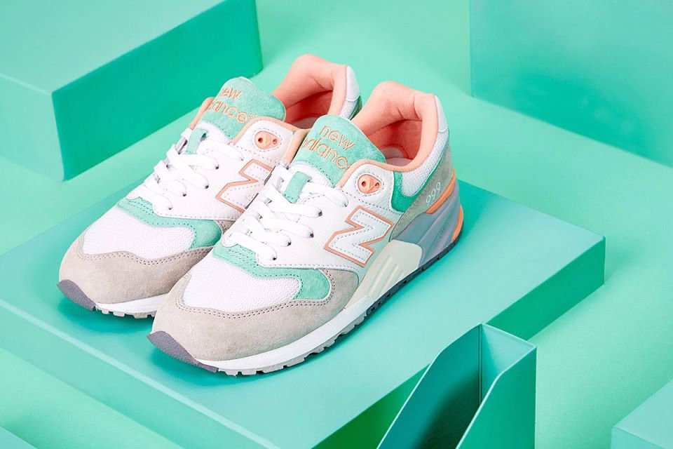 hot products pretty cheap best online New Balance 999 Pastel