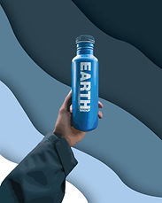 earth group water bottle illustration-01