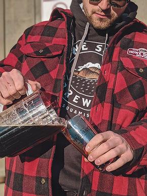 Howe Sound Brewing Plaid Jacket