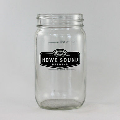 Howe Sound Brewing 12oz Mason Jar