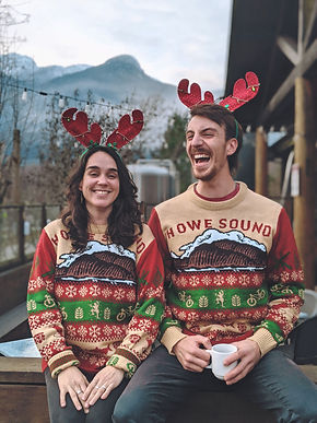 Howe Sound Christmas Sweaters