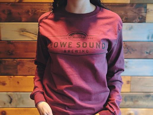 Howe Sound Brewing Long Sleeve Tee