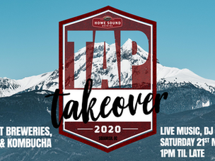 *CANCELLED* - TAP TAKEOVER 2020 is back at the Howe Sound Brewpub!
