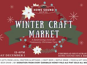 Winter Craft Market - December 1st, Noon til 6pm