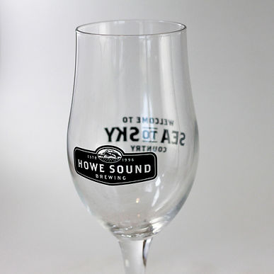 Howe Sound Tulip Glass 16oz