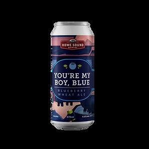 You're My Boy Blue Blueberry Wheat Ale