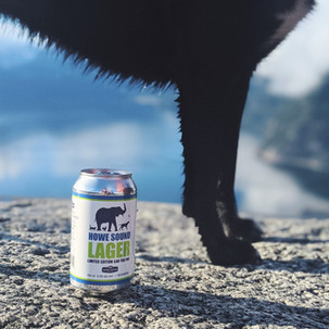 Limited Edition Cans for Vancouver Humane Society Lager
