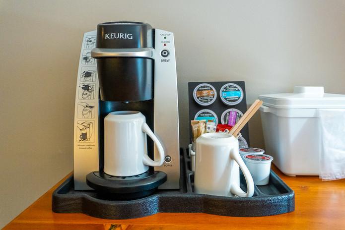 Howe Sound Inn Keurig Coffee Machine