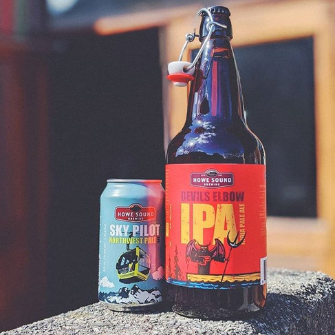 Howe Sound Brewing's HOME DELIVERY SERVICE, now available!