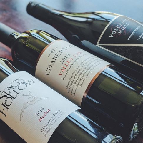 New BC Wine List at the Brewpub!